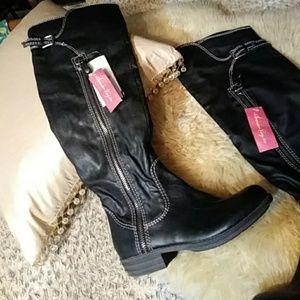 0c8242508c5 American Rag black OTK boots sz 7.5m